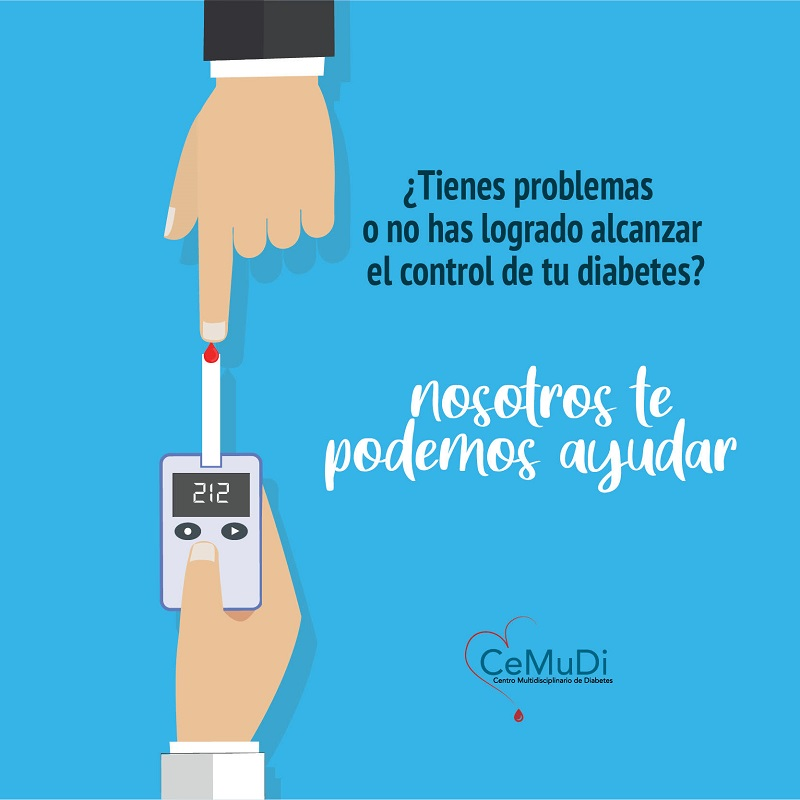 ¿Tienes problemas o no has logrado alcanzar el control de tu diabetes?
